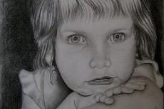 Нарисую портрет карандашом 29 - kwork.ru