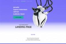 Дизайн страницы сайта - сервиса 42 - kwork.ru