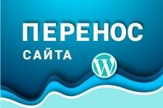 Перенесу сайт на другой хостинг 18 - kwork.ru