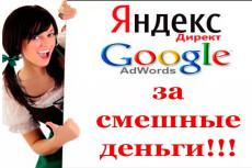 Создание и полная настройка контекстной рекламы в Яндекс Директ 21 - kwork.ru