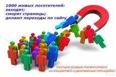 3050 посетителей на ваш сайт плюс 25 рекламных постов в группах ВК 2 - kwork.ru