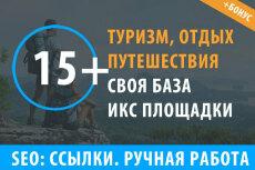 Размещу 16 ссылок на сайтах женской тематики 40 - kwork.ru