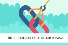 10 естественных ссылок с форумов и других сайтов. Женская тематика 4 - kwork.ru