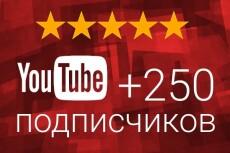 Добавлю 250 подписчиков на ваш канал YouTube | Ручная работа, без списаний 5 - kwork.ru