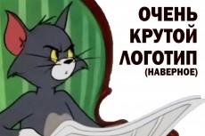 Нарисую логотип в трех вариантах 31 - kwork.ru