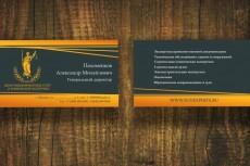Нарисую для Вас два варианта визитки 28 - kwork.ru