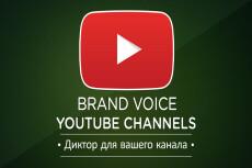 Озвучу Ваш канал YouTube 4 - kwork.ru