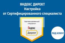 Создание кампании в Яндекс. Директ под ключ 11 - kwork.ru