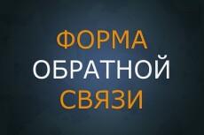 """Создам форму обратной связи """"под ключ"""" 21 - kwork.ru"""