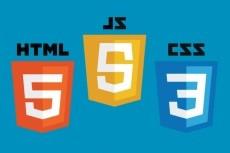 Верстка PSD макета в формате html + CSS 25 - kwork.ru