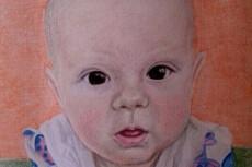 Портрет раскраска по номерам 24 - kwork.ru