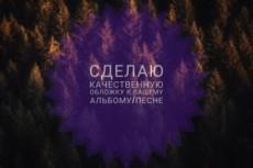 Сделаю обложку для песни или альбома 15 - kwork.ru