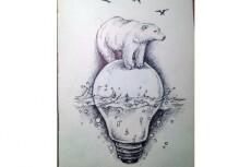 Зен-арт изображение в ручной технике 21 - kwork.ru