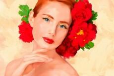 Нарисую векторный портрет 13 - kwork.ru
