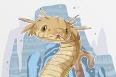 Нарисую 2D персонажа 6 - kwork.ru