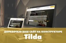 Создам уникальный сайт на CMS Tilda 67 - kwork.ru