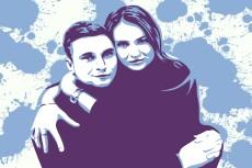 Быстро нарисую арт портрет вашего домашнего питомца 10 - kwork.ru