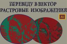 Переведу любую картинку в вектор 64 - kwork.ru