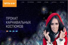 Готовый сайт Landing Page Услуги патронажа 22 - kwork.ru