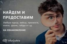 Обучающий курс партнёрский конвейер на авито 8 - kwork.ru