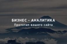 Дизайн страницы сайта - сервиса 44 - kwork.ru
