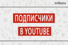 400 качественных подписчиков YouTube. Гарантия от списания 14 - kwork.ru