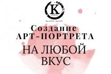 Напишу портрет по фото на заказ в стиле Поп арт, Poster Hope 25 - kwork.ru
