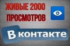 +6000 просмотров к вашей записи ВКонтакте глазик под постом в группе 3 - kwork.ru