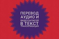 Сделаю текстовую версию аудио, видео, телефонных разговоров 21 - kwork.ru