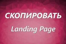 Копирую лендинги landing page,  одностраничные сайты 27 - kwork.ru