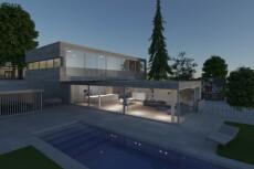 Визуализация экстерьера, 3D моделирование зданий, беседок, веранд 25 - kwork.ru