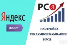 Настройка контекстной рекламы в Рекламной Сети Яндекс 7 - kwork.ru